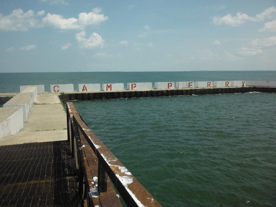The lake effect for Lake erie pier fishing