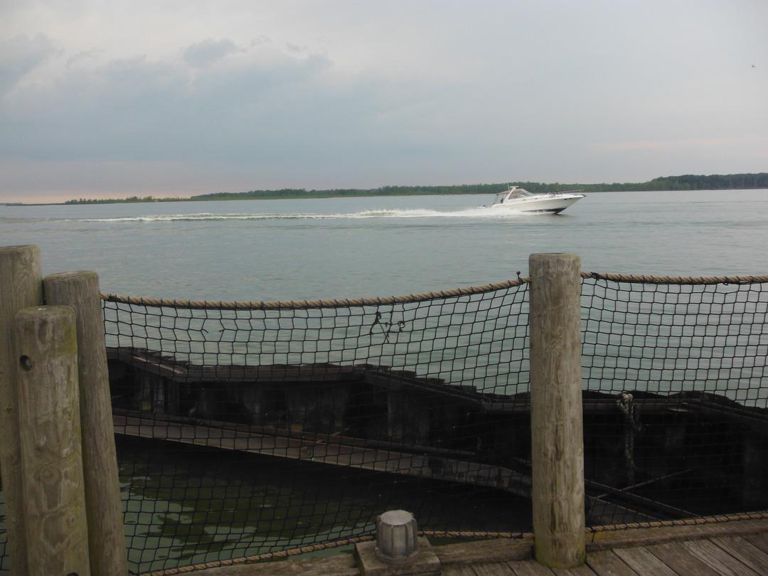 The lake effect for Sandusky bay fishing