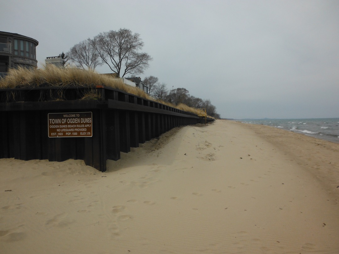Like Many Other Points Of Interest In Northern Indiana The Town Ogden Dunes Is Right Off Route 12 Beach Here Isn T Very But It Provides A